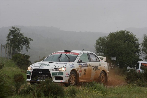Rally de tierra de Huelva la Luz 2010